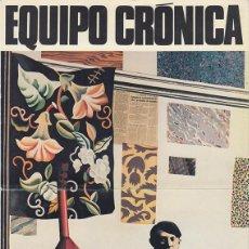 Coleccionismo Papel Varios: EQUIPO CRÓNICA. INVITACIÓN EXPO GALERÍA MAEGHT. BARCELONA 1981. Lote 187149188