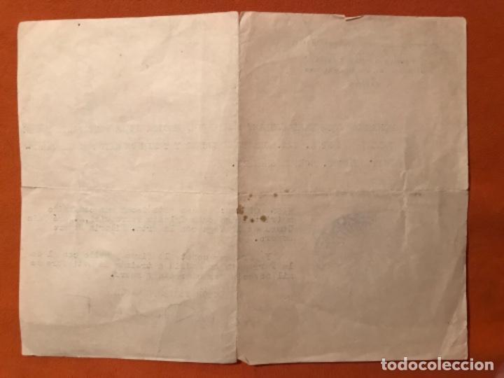 Coleccionismo Papel Varios: Certificado matrimonio parroquia stmo corpus christi nuestra señora del buen suceso sello y firma - Foto 2 - 187623848
