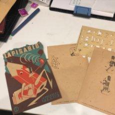 Coleccionismo Papel Varios: LAPISABIO. Lote 188428828