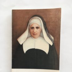 Outros artigos de papel: NOVENA A STA. MARÍA ROSA MOLAS. TRÍPTICO.. Lote 189319065