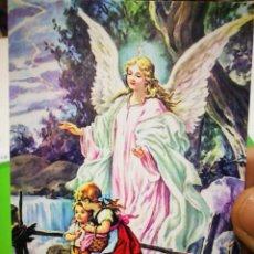 Coleccionismo Papel Varios: ESTAMPA ANGEL DE LA GUARDA. Lote 189470487