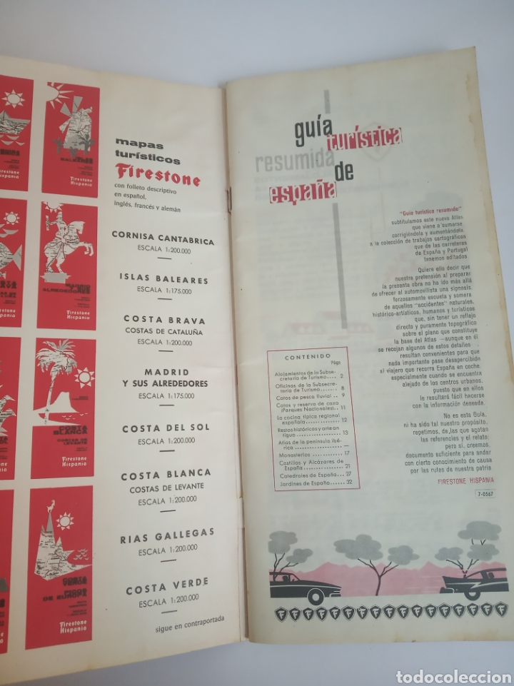 Coleccionismo Papel Varios: Guia FIRESTONE HISPANIA - Foto 4 - 189493773