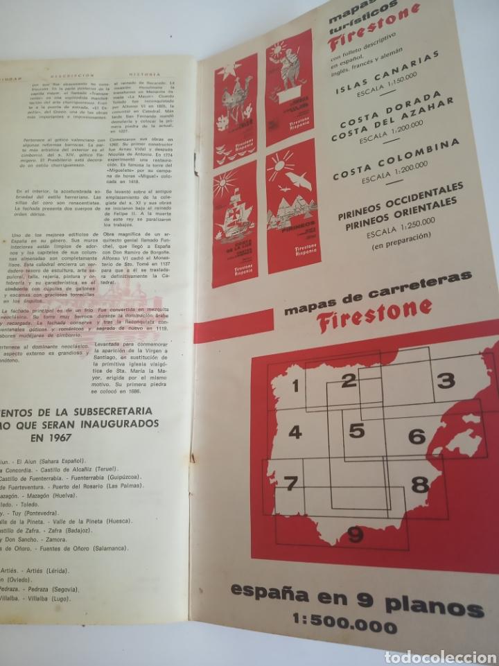 Coleccionismo Papel Varios: Guia FIRESTONE HISPANIA - Foto 5 - 189493773