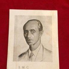 Coleccionismo Papel Varios: S.M.C. DON JAVIER DE BORBON - AET SEVILLA. Lote 190364507