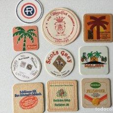 Coleccionismo Papel Varios: LOTE 10 POSAVASOS DIFERENTES. Lote 190440212