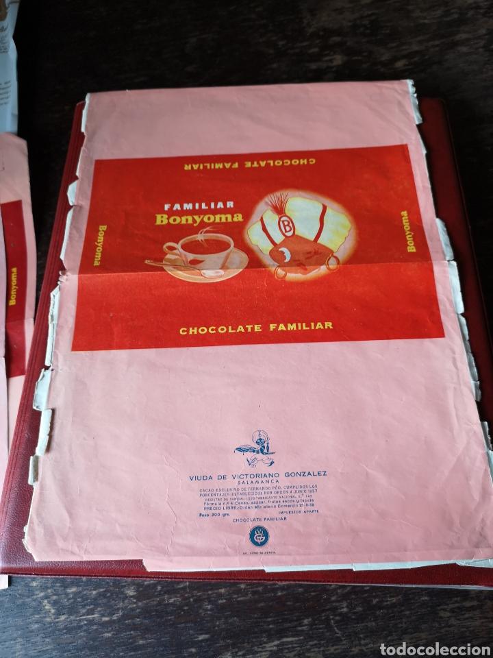 PRUEBA ENVOLTORIO DE CHOCOLATES SANTA JULIANA SALAMANCA (Coleccionismo en Papel - Varios)