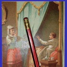 Coleccionismo Papel Varios: XAVIER DE MONTÉPIN - SILENCIO QUE NOS PUEDEN OIR - 16 X 10 CM - 1887. Lote 191152722