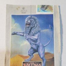 Coleccionismo Papel Varios: ENTRADA CONCIERTO ROLLING STONES MALAGA 1998. Lote 191308881