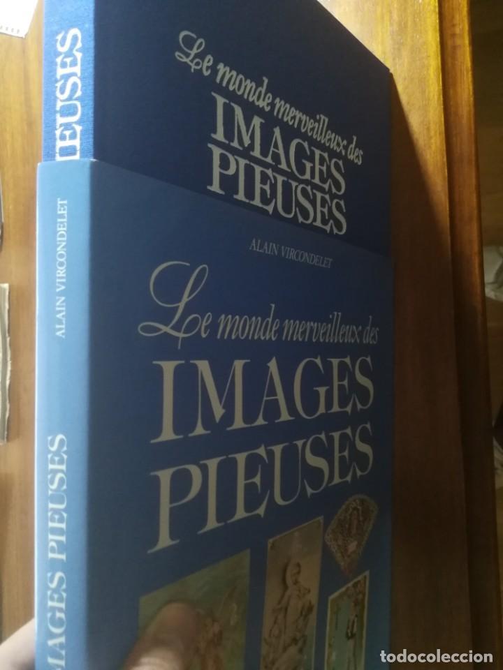 Coleccionismo Papel Varios: Libro Le monde des IMAGES PIEUSES ( Coleccionismo religioso en papel ) 1988 150 pág. Muy buen estado - Foto 3 - 191364863