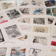 Coleccionismo Papel Varios: ALBUM ANUNCIOS PUBLICIDAD AÑOS 50 60 VARIADO MARTINI, PHILIPS, FLOÏD, VESPA, NESCAFE, SIGMA, NESTLE.. Lote 191402710