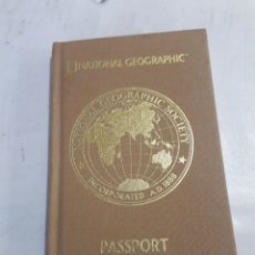 Coleccionismo Papel Varios: PASAPORTE, NATIONAL GEOGRAPHIC. Lote 191532186
