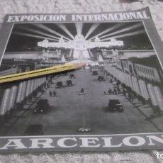 Outros artigos de papel: LÁMINA AÑO 1995 - LA EXPOSICIÓN INTERNACIONAL DE BARCELONA 1929. Lote 191971058