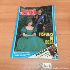 Coleccionismo Papel Varios: REVISTA SEMANA. Lote 192403915