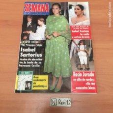 Coleccionismo Papel Varios: REVISTA SEMANA. Lote 192403981