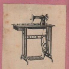 Coleccionismo Papel Varios: FOLLETO DE LA MAQUINA DE COSER ALFA MODELO 502 MUEBLE DE UNA GAVETA. Lote 192438241