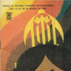 Coleccionismo Papel Varios: == PA380 - FOLLETO FALLAS DE VALENCIA 1980. Lote 192689673