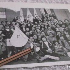 Coleccionismo Papel Varios: RECORTE AÑO 1935 - PALENCIA . BENDICIÓN DE BANDERAS DE JUVENTUDES CATÓLICAS. Lote 192697917