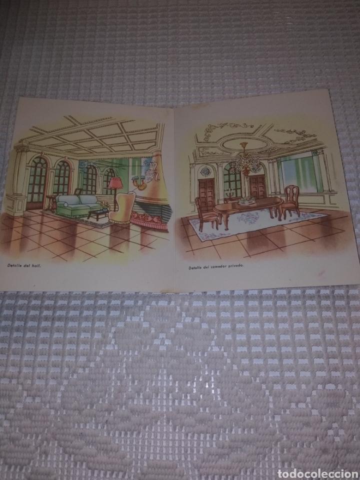 Coleccionismo Papel Varios: TARJETA.DÍPTICO . RESTORAN MARISCAL .PELIGROS 4 - Foto 3 - 192729491