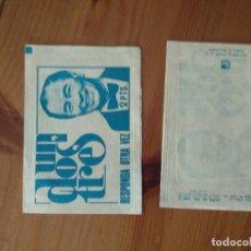 Coleccionismo Papel Varios: SOBRE DE CROMOS VACIO UN DOS TRES RESPONDA OTRA VEZ DE FHER. Lote 212469388