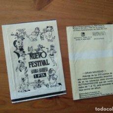 Coleccionismo Papel Varios: SOBRE DE CROMOS VACIO NUEVO FESTIVAL HANNA BARBERA DE FHER. Lote 212469406