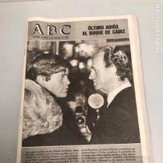 Coleccionismo Papel Varios: REVISTA ABC. Lote 193664257