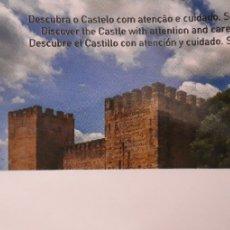 Coleccionismo Papel Varios: ENTRADA CASTILLO DE SAN JORGE PORTUGAL. Lote 194344220