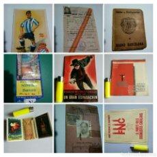 Coleccionismo Papel Varios: LOTE COLECCIONISMO PAPEL. Lote 194344478