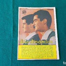 Coleccionismo Papel Varios: CANCIONERO Nº 58 DUO DINAMICO (1963) EDICIONES BISTAGNE. Lote 194350013