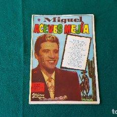 Coleccionismo Papel Varios: CANCIONERO Nº 2 MIGUEL ACEVES MEJIA (1958) EDICIONES BISTAGNE. Lote 194350192