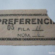 Coleccionismo Papel Varios: ENTRADA CINE. Lote 194391981