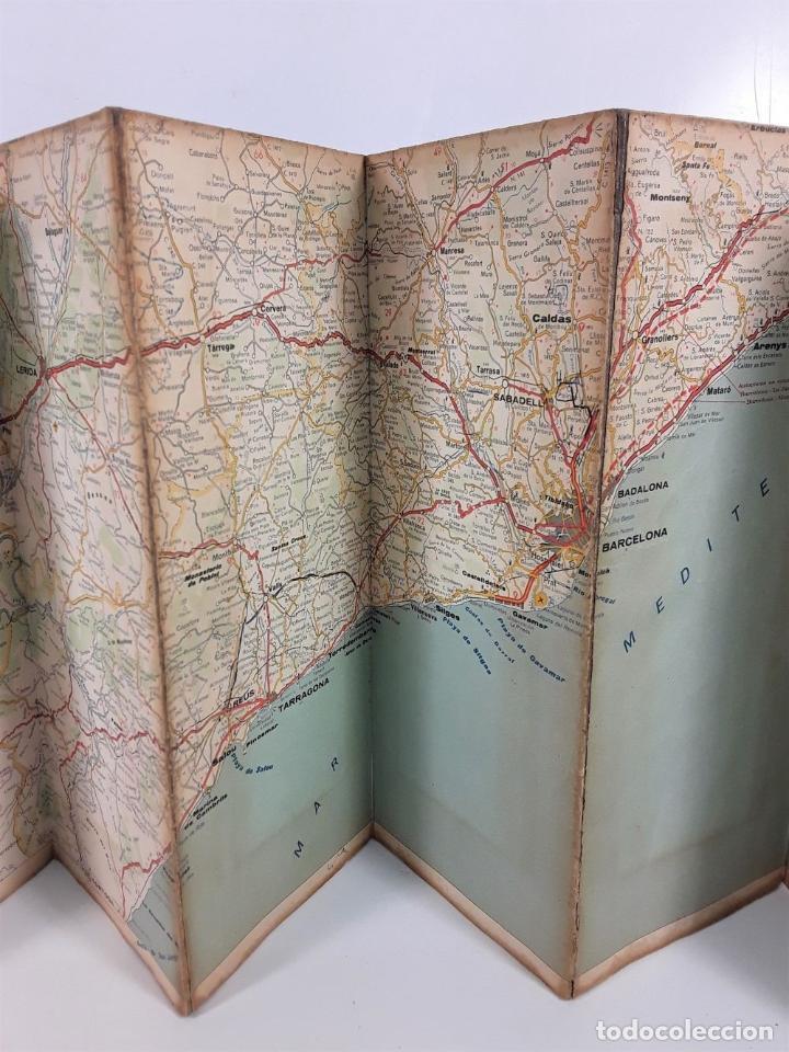Coleccionismo Papel Varios: MAPAS DE CARRETERAS. EDIT. SECCIÓN CARTOGRÁFICA DE FIRESTONE HISPANIA. 1964. - Foto 6 - 169951656
