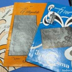 Coleccionismo Papel Varios: 3 REVISTAS EL MIGUELTE DE JUEGOS DE CAMA. Lote 194507533