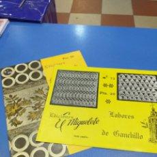 Coleccionismo Papel Varios: 2 CUADERNOS LABORES DE GANCHILLO. Lote 194508275