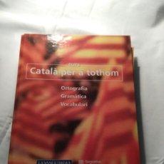 Coleccionismo Papel Varios: CURSO 'CATALÀ PER A TOTHOM' LA VANGUARDIA. 1999. Lote 194532180