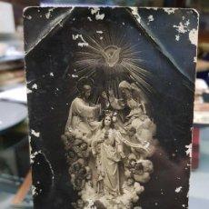 Coleccionismo Papel Varios: ANTIGUA POSTAL RELIGIOSA LAS TRES AVEMARIAS CAPUCHINOS ORIHUELA ALICANTE. Lote 194614471