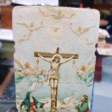 Coleccionismo Papel Varios: ANTIGUA ESTAMPA RELIGIOSA CENTENARIO TERREMOTOS CATRAL ALICANTE 1929. Lote 194614712