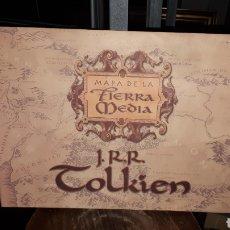 Coleccionismo Papel Varios: MAPA DE LA TIERRA NUEVA J.R.R. TOLKIEN COMO NUEVO. Lote 194616332