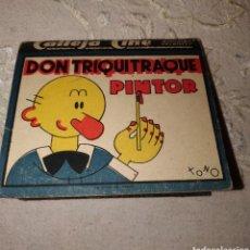 Coleccionismo Papel Varios: DON TRIQUITRAQUE PINTOR, CINE CALLEJA. Lote 194746401