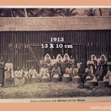 Coleccionismo Papel Varios: FOTO ETNICA. - AÑO 1913 - 13 X 10 CM. Lote 194755067