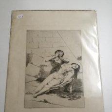 Coleccionismo Papel Varios: AIGUAFORT, SEGUÍ. CAPRICHOS DE GOYA. TANTALO. 1888. Lote 194758595