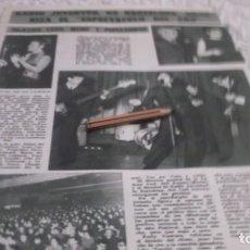 Coleccionismo Papel Varios: RECORTE AÑOS 60 -BARCELONA.TEATRO CALDERON FESTIVAL CANCION,ORGANIZADO POR RADIO JUVENTUD,LOS SIREX. Lote 194870323