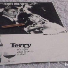 Coleccionismo Papel Varios: RECORTE PUBLICIDAD AÑOS 60 - BRANDY-COÑAC TERRY. Lote 194871077
