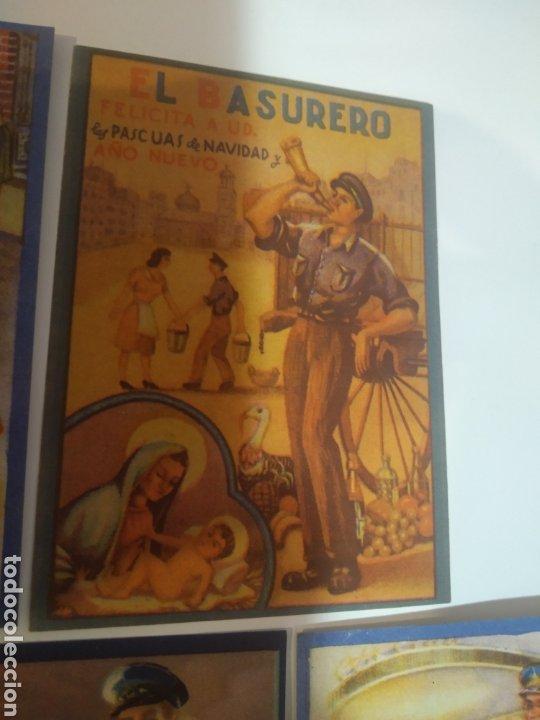 Coleccionismo Papel Varios: Folletos felicitacion fiestas El vijilante , el basurero - Foto 3 - 194895353