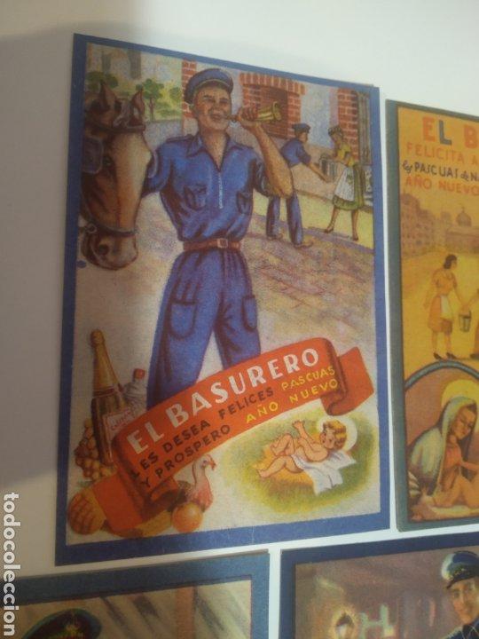 Coleccionismo Papel Varios: Folletos felicitacion fiestas El vijilante , el basurero - Foto 4 - 194895353
