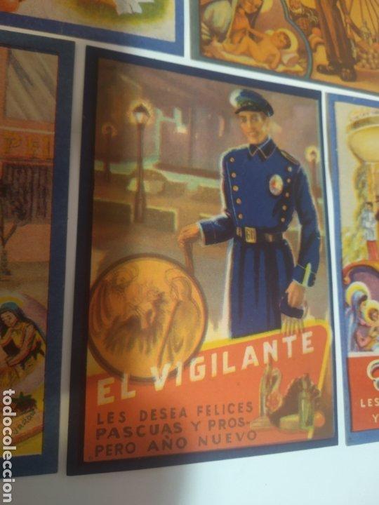 Coleccionismo Papel Varios: Folletos felicitacion fiestas El vijilante , el basurero - Foto 5 - 194895353