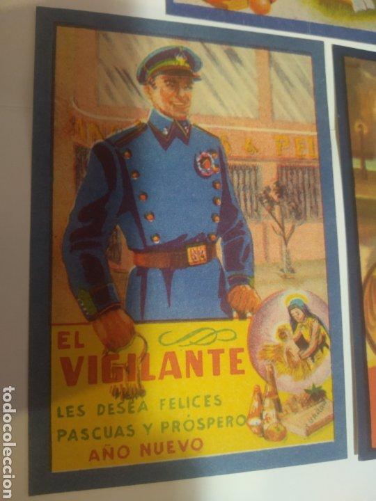 Coleccionismo Papel Varios: Folletos felicitacion fiestas El vijilante , el basurero - Foto 6 - 194895353