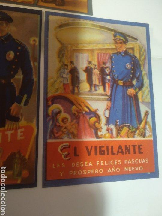 Coleccionismo Papel Varios: Folletos felicitacion fiestas El vijilante , el basurero - Foto 7 - 194895353