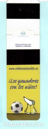 Coleccionismo Papel Varios: MARCAPÁGINAS DE EDITOR ALDEAS PARA FIFA 2006 - Foto 2 - 194898200