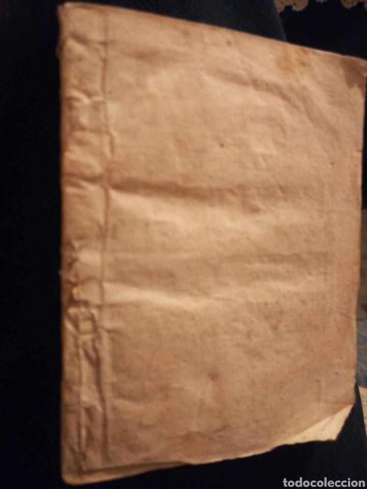 Coleccionismo Papel Varios: Sagrado Arcángel San Raphael Novena y Devoción Madrid Siglo XVIII - Foto 3 - 194901918