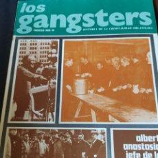 Coleccionismo Papel Varios: LOS GANSTERS N.20. Lote 194939106